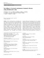 Surveillance of systemic autoimmune rheumatic diseases using administrative data
