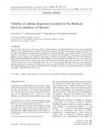 Validity of asthma diagnoses recorded in the Medical Services database of Quebec