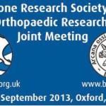 Bone Research Society/British Orthopaedic Research Society Joint Meeting (BRSOC/BORSOC)