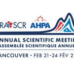 2018 CRA Annual Scientific Meeting & AHPA Annual Meeting