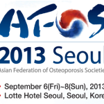 3rd Asian Federation of Osteoporosis Societies Biennial Meeting (AFOS 2013)